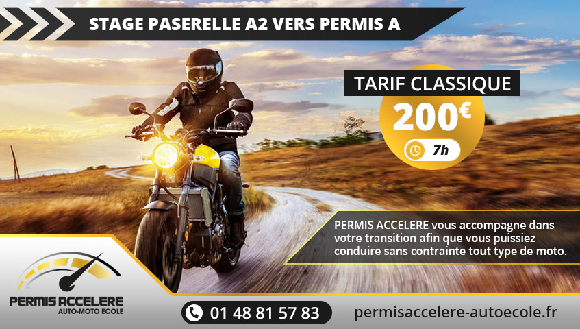 Stage Passerelle A2 vers Permis A